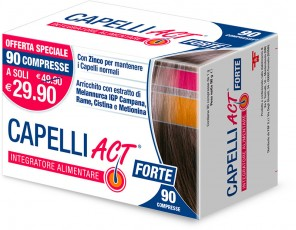 CAPELLI ACT FORTE - 90 COMPRESSE