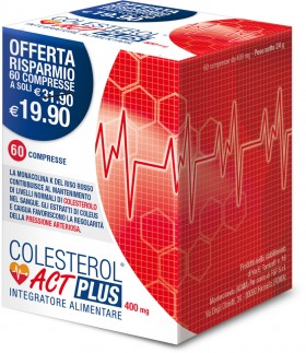 COLESTEROL ACT PLUS 400mg - 60 compresse