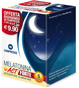 MELATONINA ACT + FORTE 5 COMPLEX