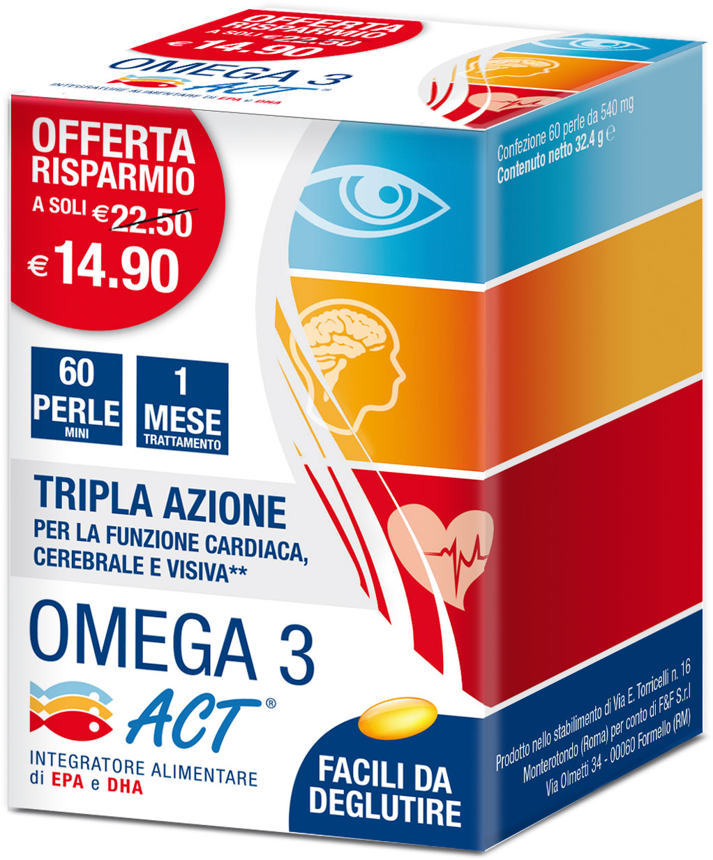 OMEGA 3 ACT